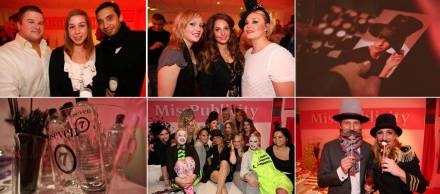 pink mistletoe party 2012
